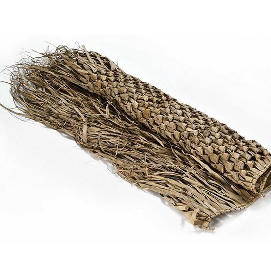 - ca3e4732de9d90e3e0f61c2ef6ad380e - Leaves | Leafpalm knitting from Caneplex Design. Dimensions: 120×120 cm.• Natural materials might present slight variati…
