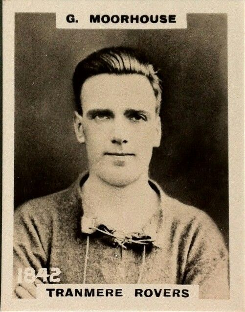 George Moorhouse of Tranmere Rovers in 1921.