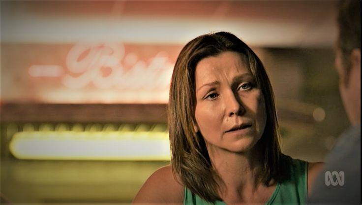 Anita Hegh as Bianca Grieve in Janet King. Bianking.