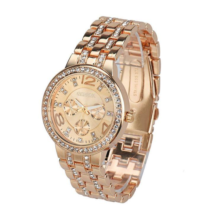 $4.39 (Buy here: https://alitems.com/g/1e8d114494ebda23ff8b16525dc3e8/?i=5&ulp=https%3A%2F%2Fwww.aliexpress.com%2Fitem%2FFashion-Exquisite-Luxury-Crystal-Quartz-Rhinestone-Crystal-Wrist-Watch-Casual-Women-Ladies-watch-Gold-Clock%2F32755419690.html ) Fashion Exquisite Luxury Crystal Quartz Rhinestone Crystal Wrist Watch Casual Women Ladies watch Gold Clock Free Shipping 2016 for just $4.39
