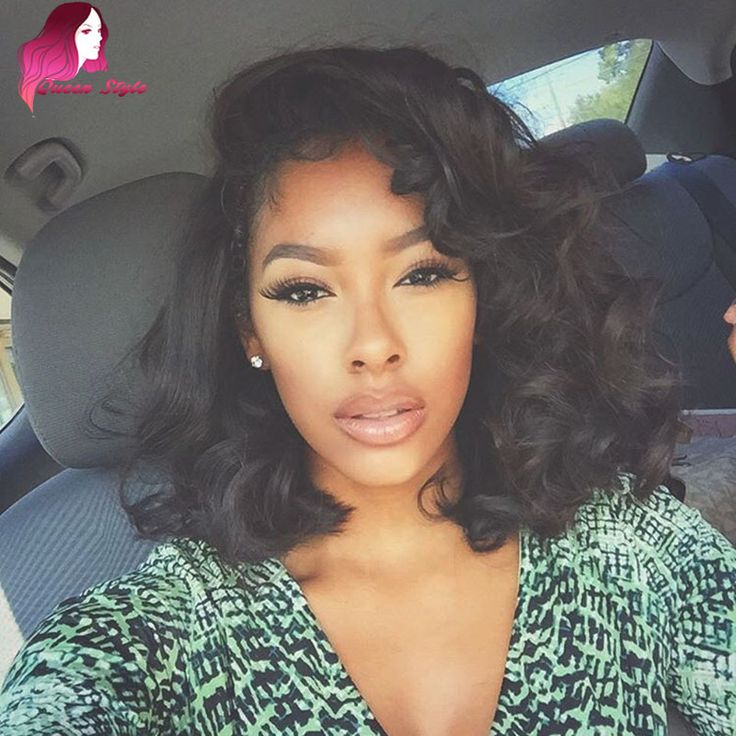 7A Short Full Lace Human Hair Wigs For Black Women Loose Wave Glueless Full Lace Wigs Human Hair Lace Front Wigs With Baby Hair
