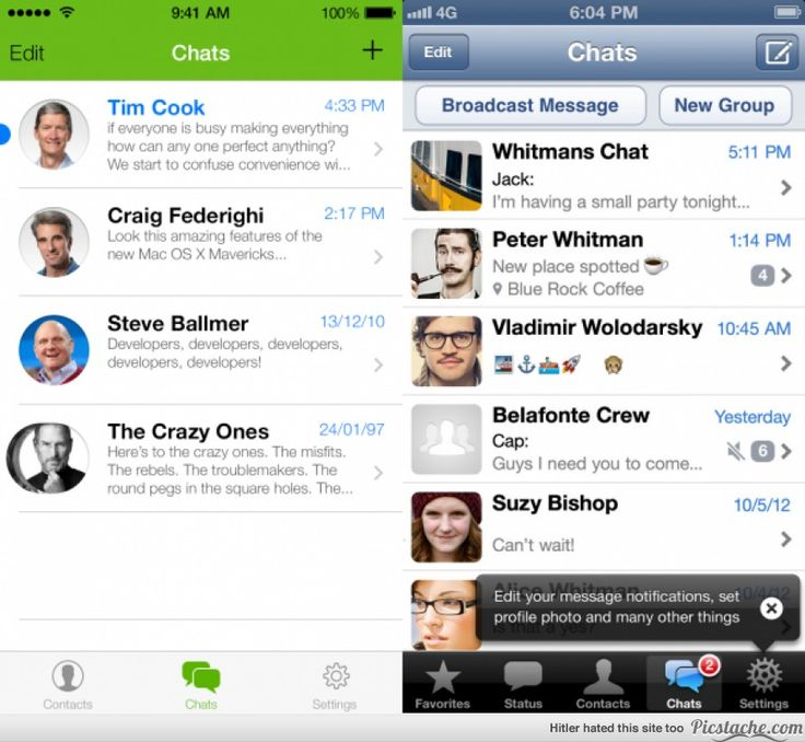 15 iOS 7 App Redesigns