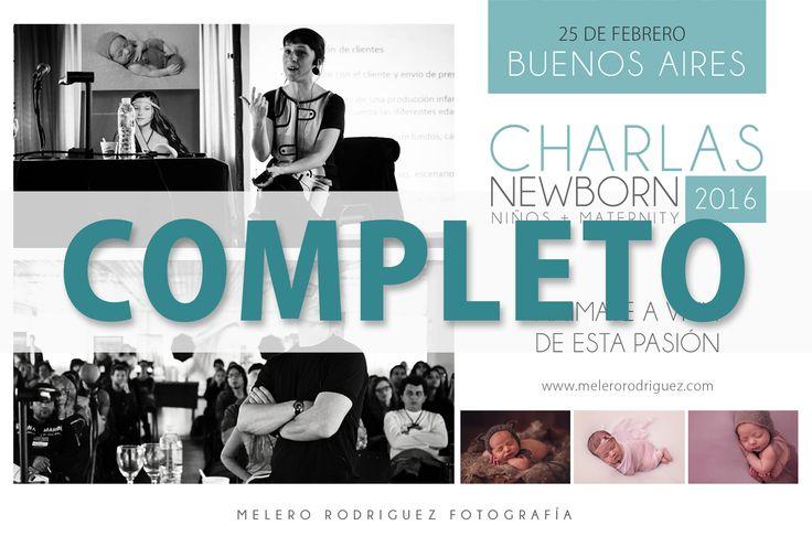 Charla Buenos Aires COMPLETO !!!!!! Gracias a todos los interesados, nos vemos el 25-02 ! Tour melero rodriguez - Charla NEWBORN, MATERNITY y NIÑOS 2016 *Córdoba - Jueves 4 de febrero - 19 22 hs. ( Quedan algunos lugares) *Buenos Aires - jueves 25 de Febrero - 19 a 22hs *COMPLETO* Consultas inbox o al workshop@melerorodriguez.com melero rodriguez newborn photography © 2015