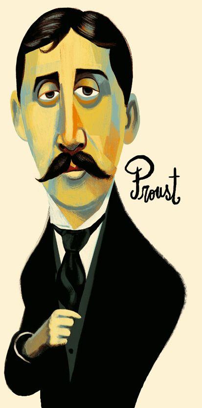 Marcel Proust / writer / by Francisco Javier Olea
