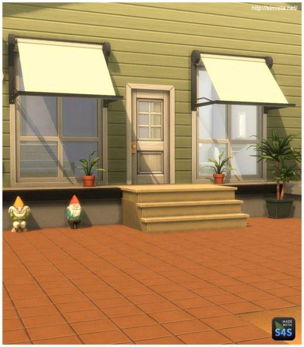 Simista: Modern Window Awning • Sims 4 Downloads
