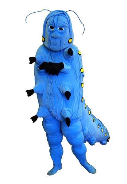 Театральный костюм гусеницы из алисы в стране чудес