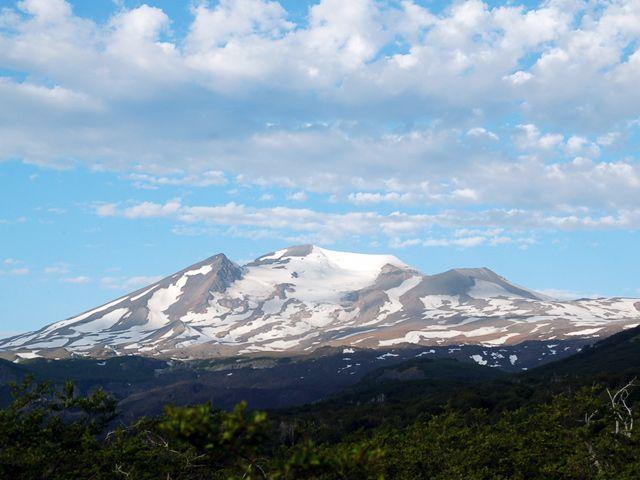 Vista al Valle Las Trancas desde mirador.