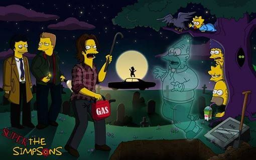 Supernatural in The Simpsons