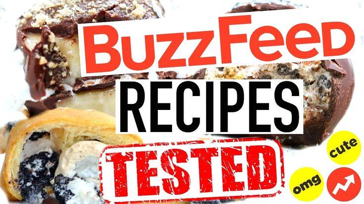 Buzzfeed Recipes Tested! Buzzfeed Food Taste Test!