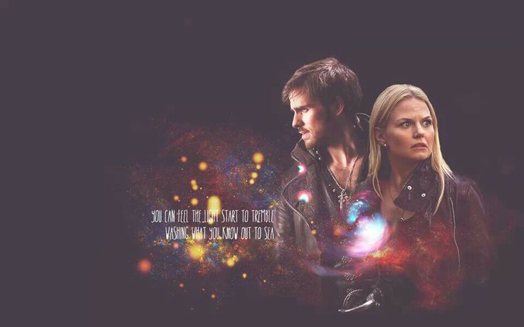 Captain Swan wa... Once Upon A Time Wallpaper Captain Swan