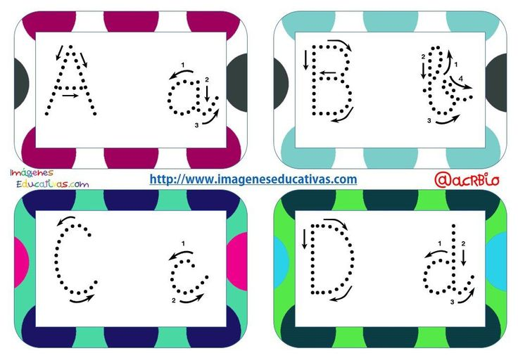 M s de 25 ideas incre bles sobre abecedario infantil en - Fuente letra infantil ...