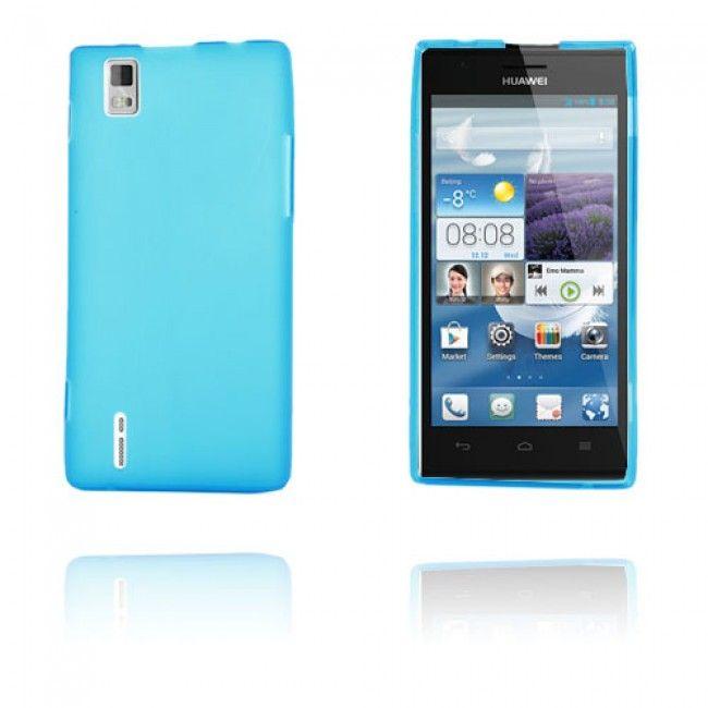 GelCase (Vaaleansininen) Huawei Ascend P2 Suojakuori - http://lux-case.fi/gelcase-vaaleansininen-huawei-ascend-p2-suojakuori.html