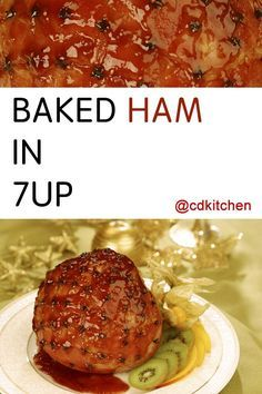 Made with ham, whole cloves, brown sugar, dry mustard, 7-UP | CDKitchen.com
