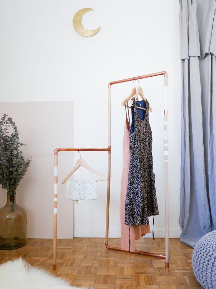 DIY réaliser un portant pour vêtements - Lili in wonderland