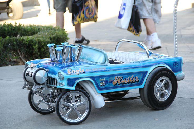 2015 Grand National Roadster Show 160 Engle Bros Fabrication Custom Pedal Car Gasser Jpg