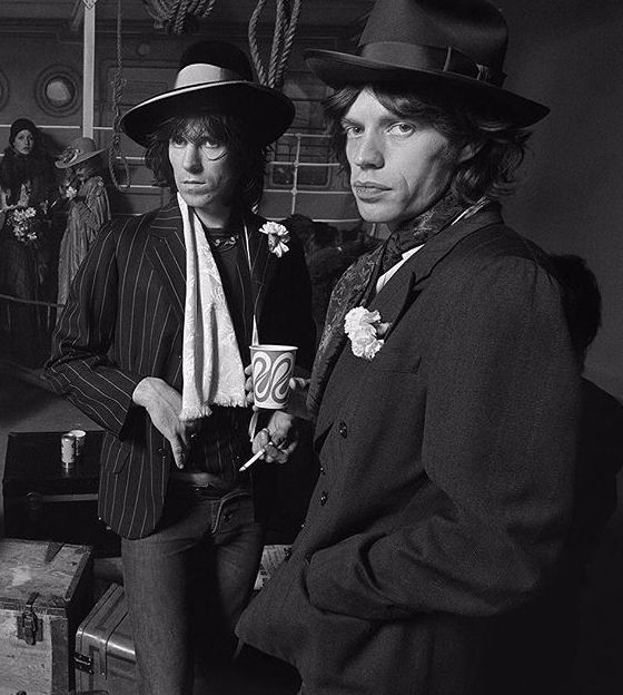 keith richards & mick jagger | The Rolling Stones ...