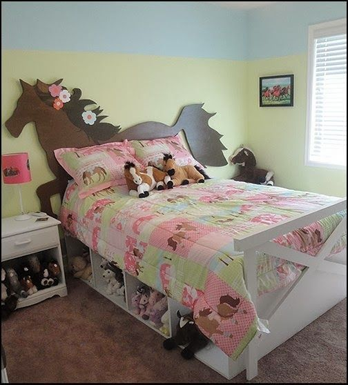 Horse Bedroom Decorating Ideas Victorian Bedroom Ideas Bedroom Wallpaper Feature Wall Ideas Bedroom Color Scheme Ideas: Horse Theme Bed-horse Theme Bedrooms