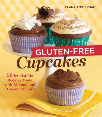 The recipes I've tried are great - especially the blueberry lemon cupcakes with lemon cream cheese frosting.: Almond, 50 Irresistible, Free Recipe, Gluten Free Cupcakes, Book, Glutenfree, Coconut Flour, Irresistible Recipes