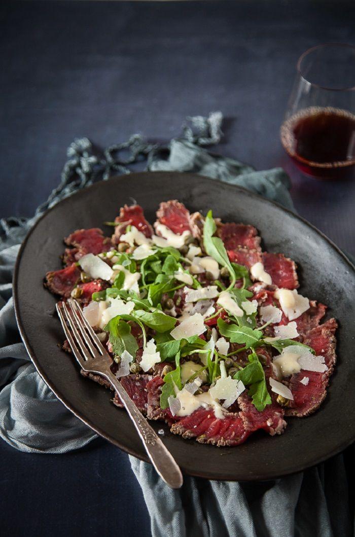 Beef Carpaccio - gratineebog.com