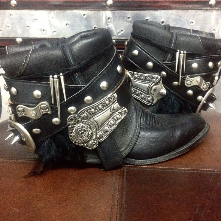 Custom Upcycled Vintage Cowboy Boho Boots - Rollin' Stone by kdenee on Etsy https://www.etsy.com/listing/203604187/custom-upcycled-vintage-cowboy-boho