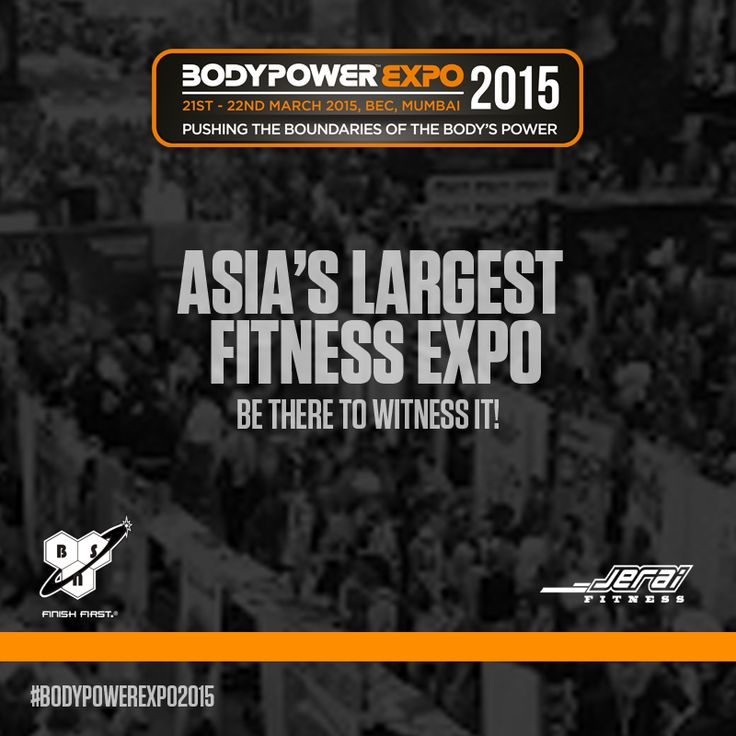 The Asia's largest fitness expo #BodyPowerExpo2015 begins today in #Mumbai! Be there at the Bombay Convention & Exhibition Centre, Goregaon to witness the phenomenal event. Don't miss it!