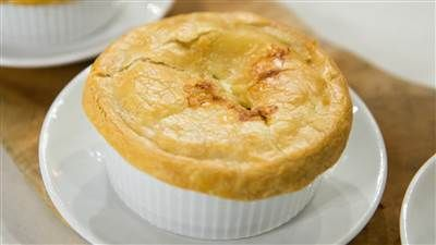 Make freezer-friendly chicken pot pies for a quick and comforting dinner