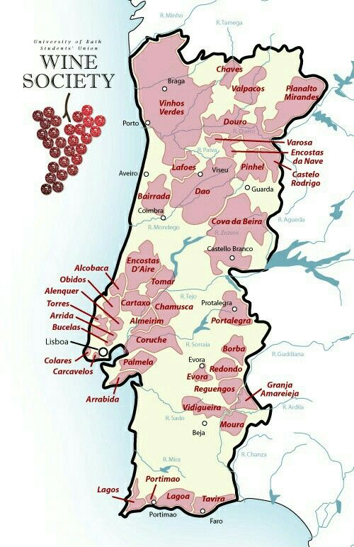 (PG) Wine regions of Portugal