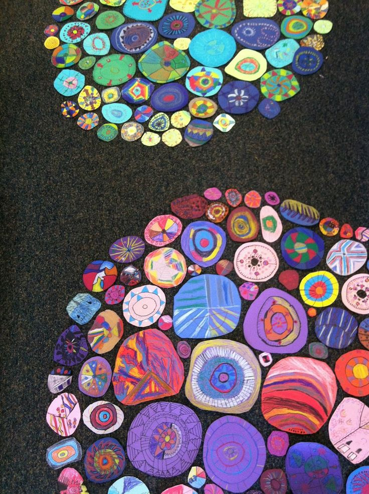 Collaborative Student Work : Lea anderson inspiración pinterest circles