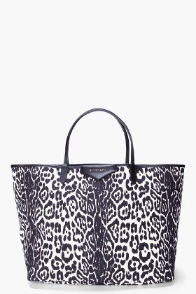 GIVENCHY Leopard Print Shopper Tote  5c4b520fee042