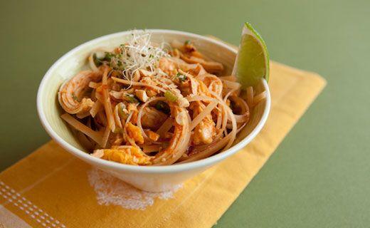 "Dinner - ""3 onion mix"" Easy Pad Thai"