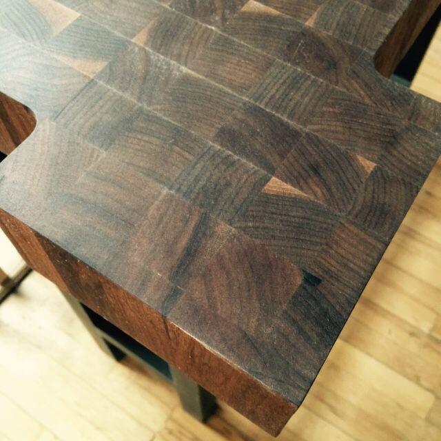 End Grain Wood Countertop | Wood Countertop | Pinterest