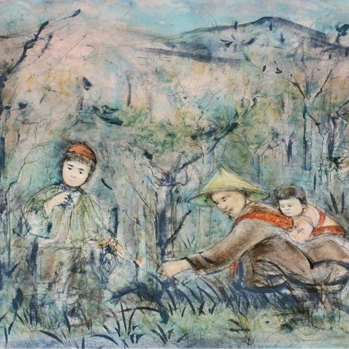 Edna Hibel - Kow Loon Peach Tree