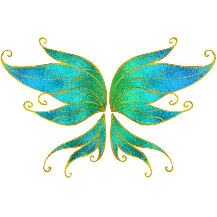 Wings Temporary Tattoos #699