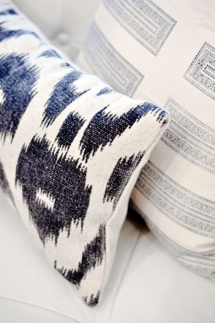 Mixing Patterns Coussins Cushions Pinterest