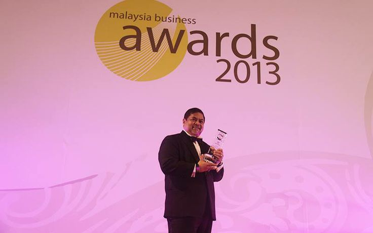 "Dato' Sri Dr Vijay Eswaran named Malaysian Business Awards (MBA) ""CEO of the Year 2013"" by the Asean Business Advisory Council Malaysia"