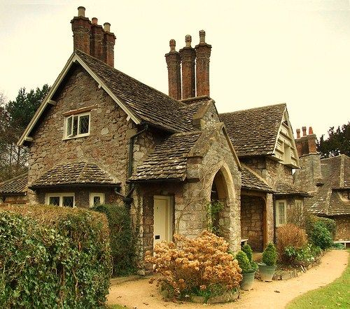 My dream home is not a huge 5 million dollar home with things I couldn't even imagine to afford.. I just want a cute and cozy stone cottage in the English countryside.