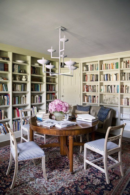 17 best ideas about dining room tables on pinterest for Dining room library