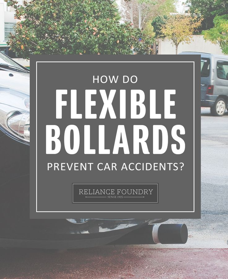 They can't stop a car, but they can stop accidents. Learn how flexible bollards increase driver awareness on our blog!