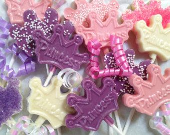 princess candy molds for girl baby shower - Google Search