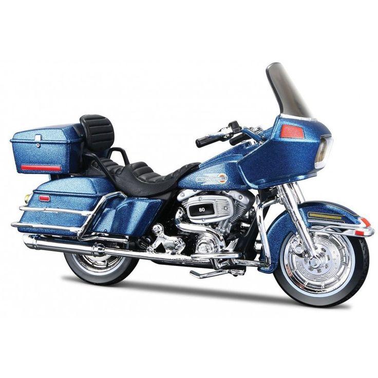 Moto Miniatura Harley Davidson FLT Tour Gilde 1:18 - Maisto #brinquedo
