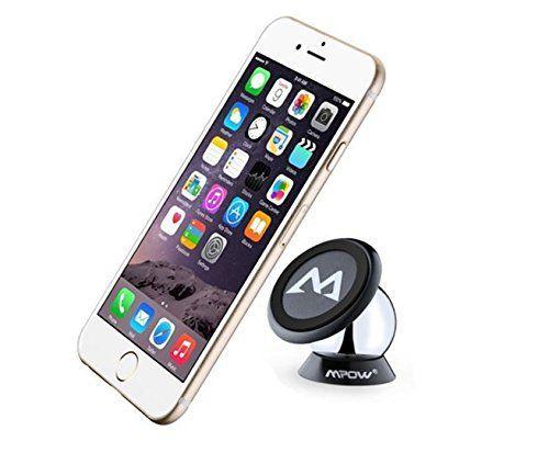 Mpow Support Magnétique, Rotation 360° réglable, Planche de Bord Collant de Dashboard pour iPhone 7 iPhone 7Plus iPhone SE,6S 6Splus 6plus,…