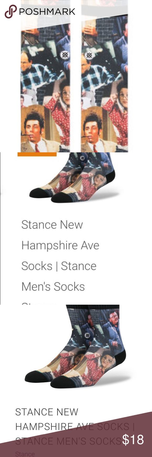 LIMITED EDITION SEINFELD STANCE!!! LIMITED EDITION SEINFELD STANCE!!! Retailing up to $35 online 😱 Get yours today!!! Stance Underwear & Socks Casual Socks