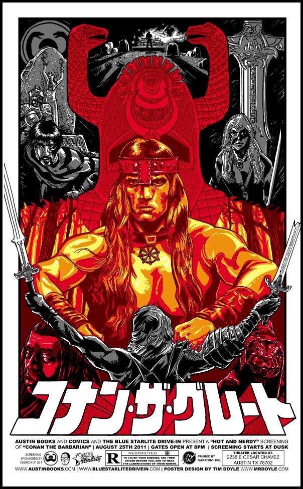 Conan (1988) - Japanese movie poster