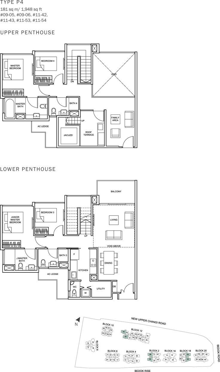 The Glades Condo Floor Plan - 4BR Penthouse - P4 - 181 sqm-1948 sqft.JPG