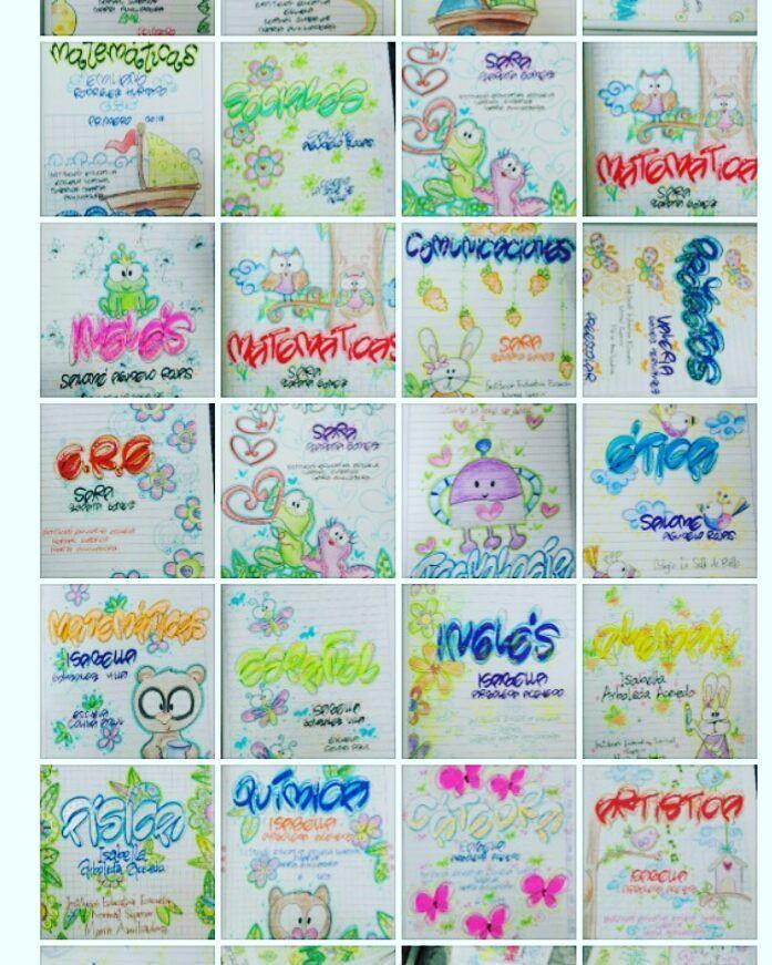 Seguimos haciéndo lo que nos gusta. Vamos llenando de colores las páginas de los cuadernos.. Marcado - pinktiendaderegalos