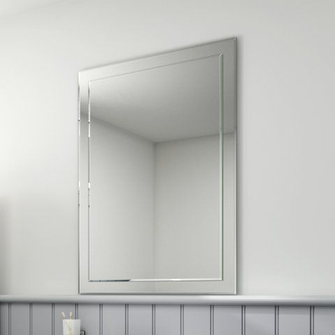 650x900mm Bevel Mirror - soak.com
