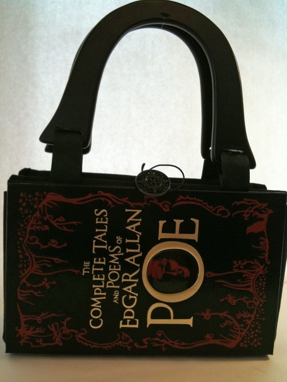Complete Tales of Edgar Allan Poe Book Purse by NovelCreations
