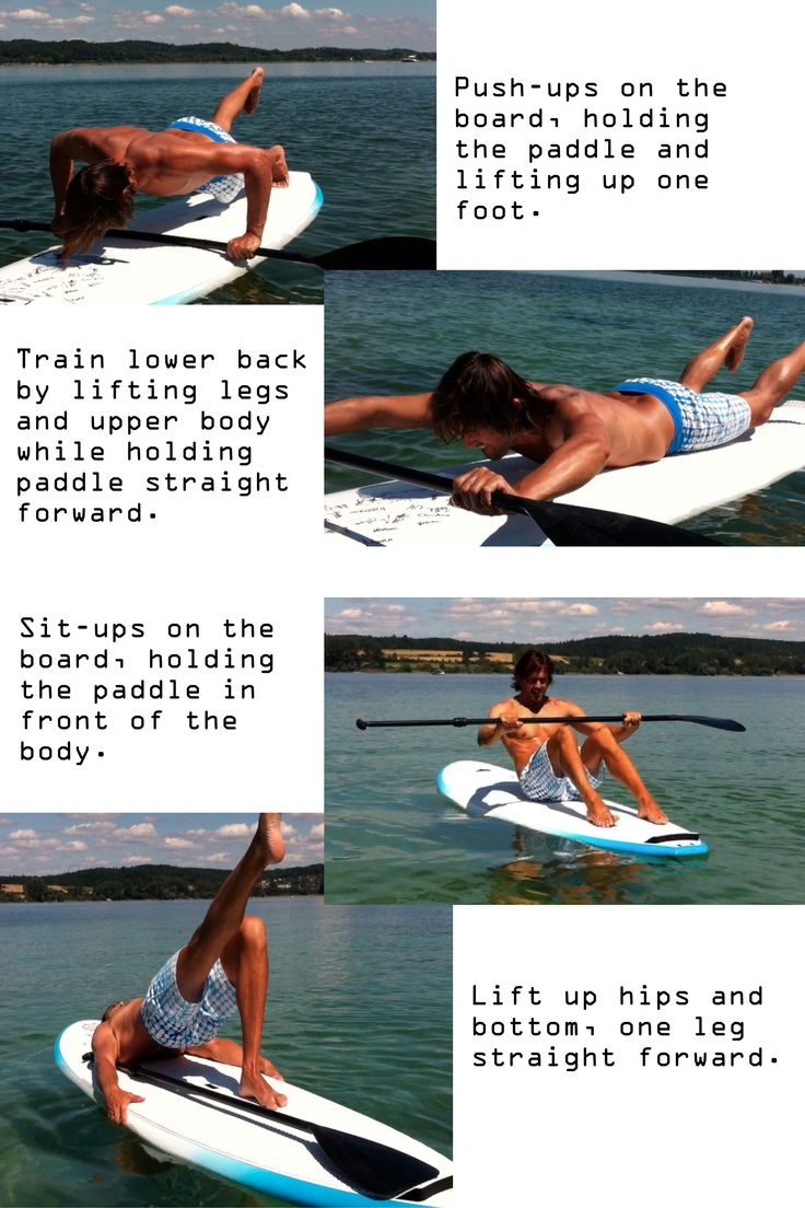 Stand up paddle board ornament - How To Exercise On A Sup Board