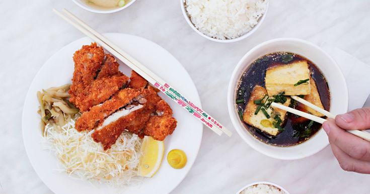 Katsu Chicken—king of the Japanese takeaway menus and the humble fried chicken of the people.It may not be a Nobu signature dish but it's a damned tasty little piece of panko-crumbed goodness—perfect for some satisfying takeaway or a cheap date at a Japanese restaurant that used to be a kebab shop.Here's where to get your hands on the best katsu chicken in Perth.