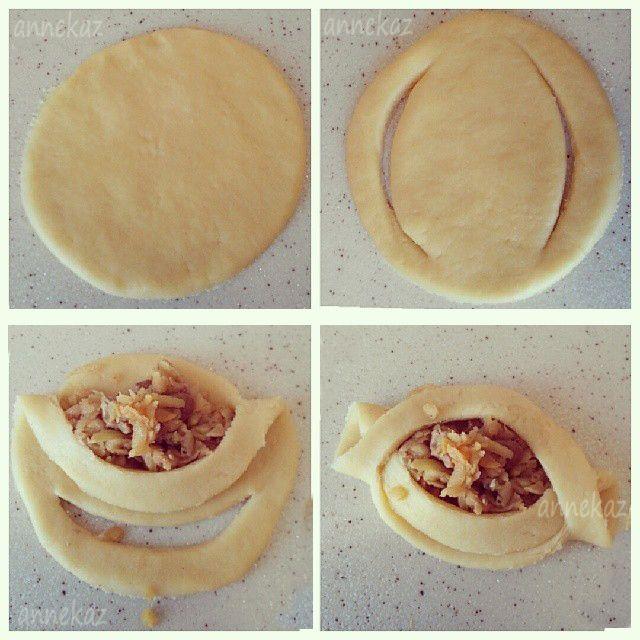 Elmalı kurabiye tarifi | Anne Kaz